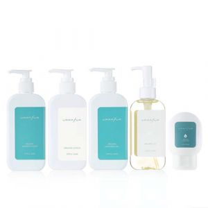 Ummafum-Organic Lotion 200ml,Soothing gel 200ml,Shampoo&Bath 250ml,oil 150ml,Powder Hand Wash 60ml