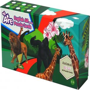 A·RE- AR ANIMAL PUZZLE. 48 KINDS