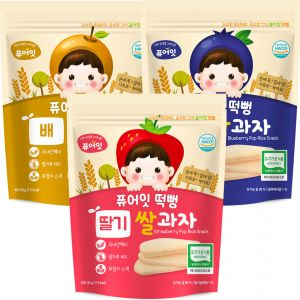 (3P) Organic Pop Rice Snack (Blueberry, Pear, Strawberry)