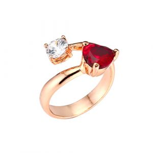 MINWHEE ART JEWELRY - The queen of Reasoning2, ruby ring