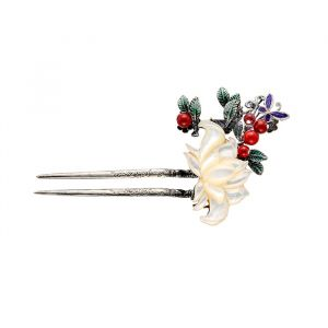 MINWHEE ART JEWELRY - Moon lovers, Tradition Flower Headpiece