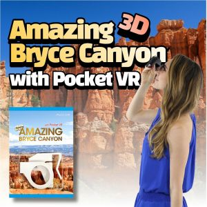 AMAZING 3D BRYCE CANYON with Pocket VR