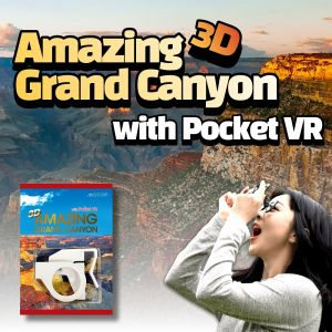 AMAZING 3D GRAND CANYON with Pocket VR
