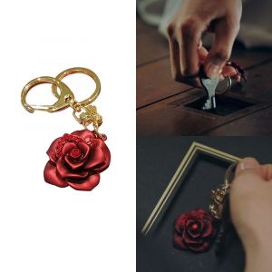 MINWHEE ART JEWELRY - Penthouse2, Rose Keyring