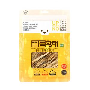 [Humming Pet] Golden Pollack Pet Snack-Stick type (70g)