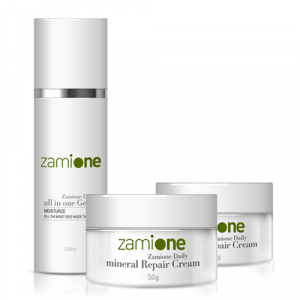 [ZAMIONE] All in One gel + Mineral Repair Cream (2EA)
