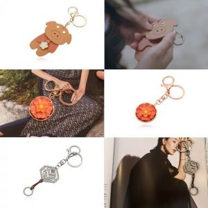 MINWHEE ART JEWELRY - Neungsohwa Key Ring & Flower Pig Key Ring & Haru Musa Key Ring