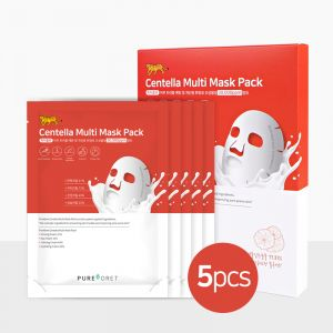 [Pureforet] Centella Acne care Multi Mask Pack (5ea)