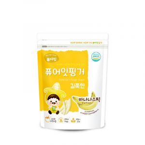 [NAEBRO] PURE-EAT Finger Brown Rice Banana Stick (30g*6)