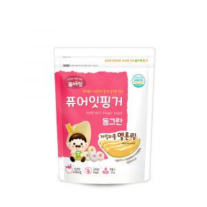 [NAEBRO] PURE-EAT Finger Brown Rice Xylitol Melon Ring (40g)