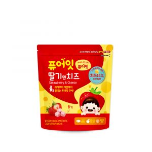 [NAEBRO] PURE-EAT Strawberry &Cheese Snack (16g)