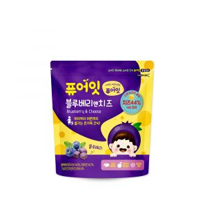 [NAEBRO] PURE-EAT Blueberry &Cheese Snack (16g)