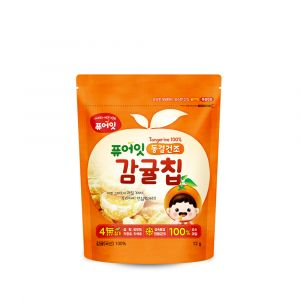 [NAEBRO] PURE-EAT Freeze-Dried Fruit Chips(6P) (Tangerine) (12g*6)