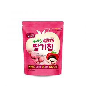 [NAEBRO] PURE-EAT Freeze-Dried Fruit Chips (Strawberry)(6P) (12g*6)