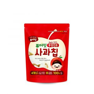 [NAEBRO] PURE-EAT Freeze-Dried Fruit Chips (Apple)(6P) (12g*6)