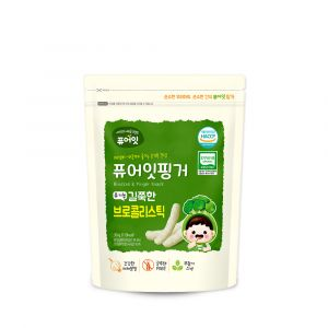 [NAEBRO] PURE-EAT Finger Organic Broccoli Stick(6P) (30g*6)
