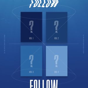[MONSTA X] Mini Album - FOLLOW FIND YOU (SET : Ver.1 + Ver.2 + Ver.3 + Ver.4)