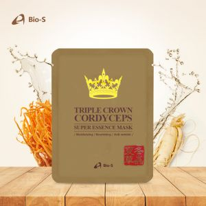 BIO-S TRIPLE CROWN CORDYCEPS SUPER ESSENCE MASK (10 EA / 1 BOX)