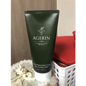 Agerin AQUAporin-3 Dry itch body relief body cream