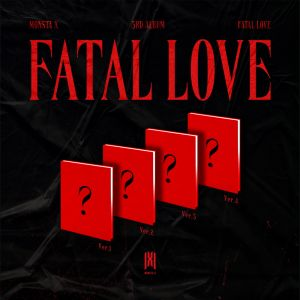 MONSTA X - 3rd Full Album [FATAL LOVE] Random Ver.
