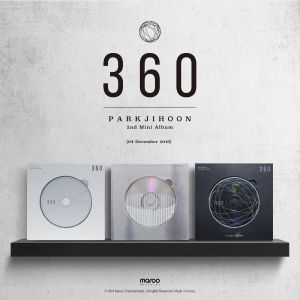 pre-order [Park Ji Hoon] - Mini Album Vol.2 [360] (360 Degrees Ver.)