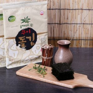 Badasori - Seasoned Dol Gim laver seaweed snack (Full size 4 sheets) 12g * 20
