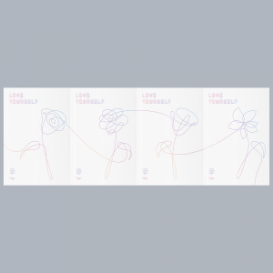 BTS - Mini Album Vol.5 [LOVE YOURSELF 承 Her] L ver. + O ver. + V ver + E ver.
