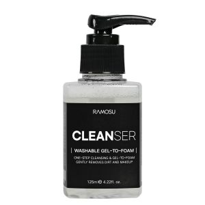 Washable Gel to Foam Cleanser 125ml