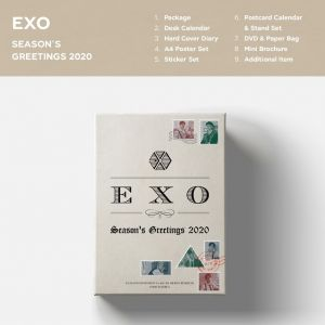 pre-order EXO - 2020 SEASON'S GREETINGS