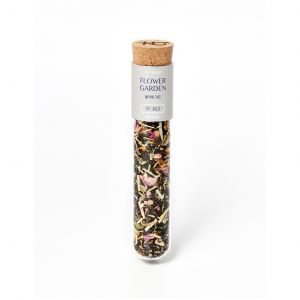 No.163 Flower Garden Black Tea -Glass Tube Case -18g