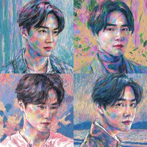 pre-order [SUHO] - Mini Album Vol.1 [Self-Portrait] (Kit Ver.)
