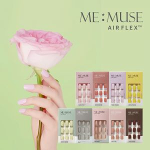 [MEMUSE] AIRFLEX SELF NAIL PASTEL COLOR