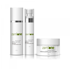 [ZAMIONE] All in One gel  + MINERAL MIST + Mineral Repair Cream (3 ITEMS)