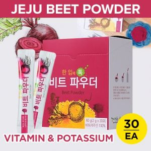 Korea Natural Vitamin Freeze drying Jeju Red Beet Powder 2g x 30ea Made in korea