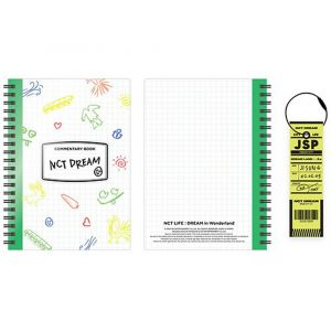 NCT DREAM - [NCT LIFE: DREAM in Wonderland Commentary Book & Luggage Tag]  JISUNG Ver.
