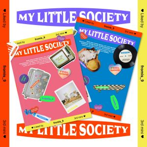 fromis_9 - mini Aibum Vol.3 [My Little Society] My society ver + My account Ver SET