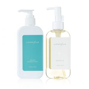 Ummafum-Organic Shampoo&Bath 250ml, Oil 150ml