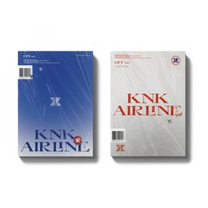 KNK - Mini Album Vol.3 [KNK AIRLINE] ON Ver. + OFF Ver. SET