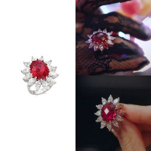 MINWHEE ART JEWELRY - K-Drama Penthouse, Ruby Ring