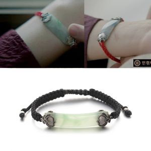 MINWHEE ART JEWELRY - MOONS LOVERS, HAESU BRACELET BLACK