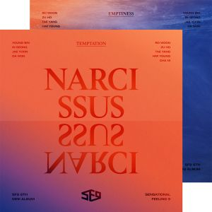 [SF9] Mini Album Vol.6 - NARCISSUS (SET : TEMPTATION + EMPTINESS ver.)