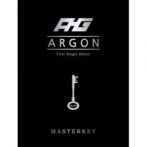 [ARGON] 1st Single Album - MASTER KEY