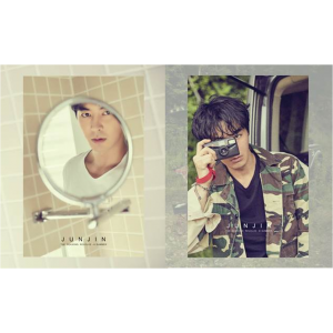 [SHINHWA : JUNJIN] THE SEASONS REVOLVE (A SUMMER / B SUMMER Ver.) Photobook