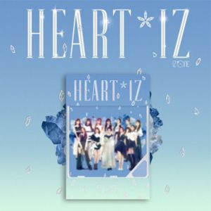 [IZ*ONE] 2nd Mini Album - HEART*IZ (Kihno Album) (Sapphire ver.)