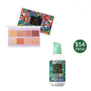 innisfree - Bestseller Serum Kit (green tea Serum 160ml + Glam Mood Palette )