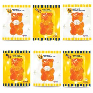 JellyFRIEN Honey Bear Silky Skin Daily Mask 6pcs