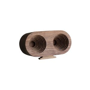 Wood speaker (2whole Round)