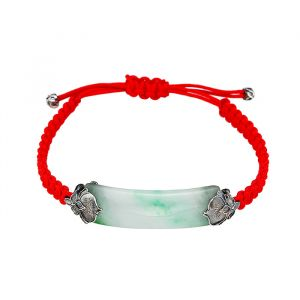 MINWHEE ART JEWELRY - MOONS LOVERS, HAESU BRACELET (RED)