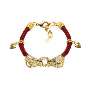 MINWHEE ART JEWELRY - Hwarang, Dragons Bracelet 1