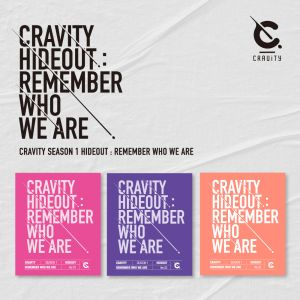 [SET] [CRAVITY] - Album SEASON1. [HIDEOUT: REMEMBER WHO WE ARE] (Ver.1 + Ver.2 + Ver.3)